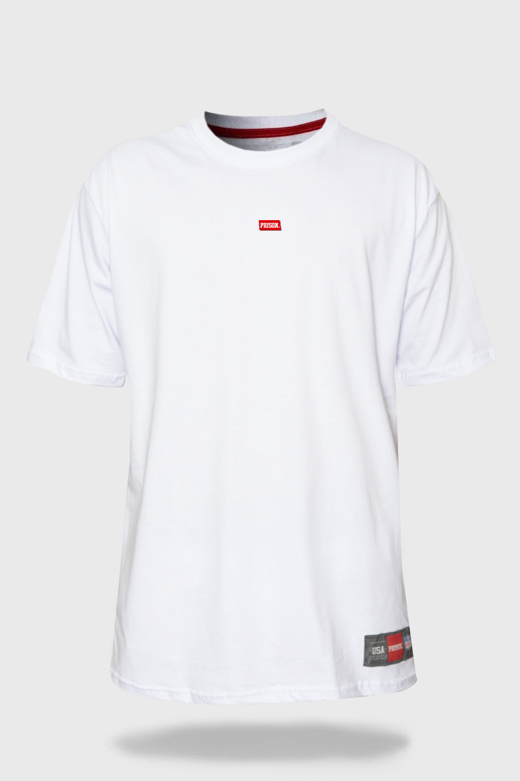 Camiseta Prison The minimalist Branco