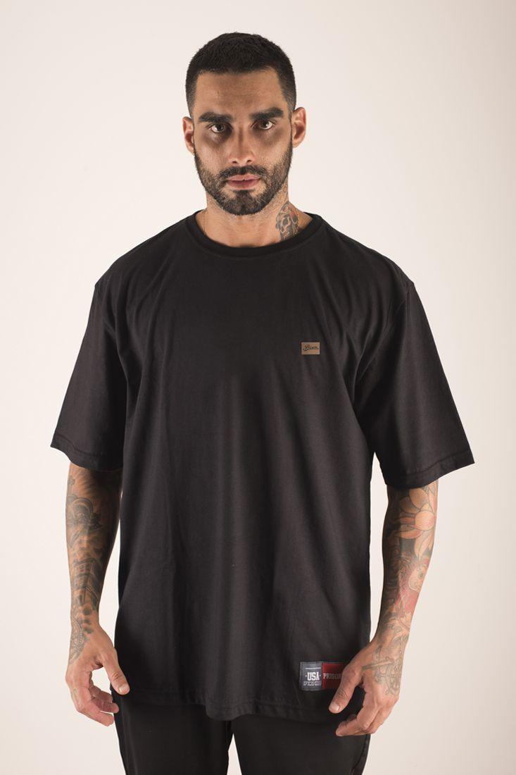 Camiseta Prison Pure Clean Preta
