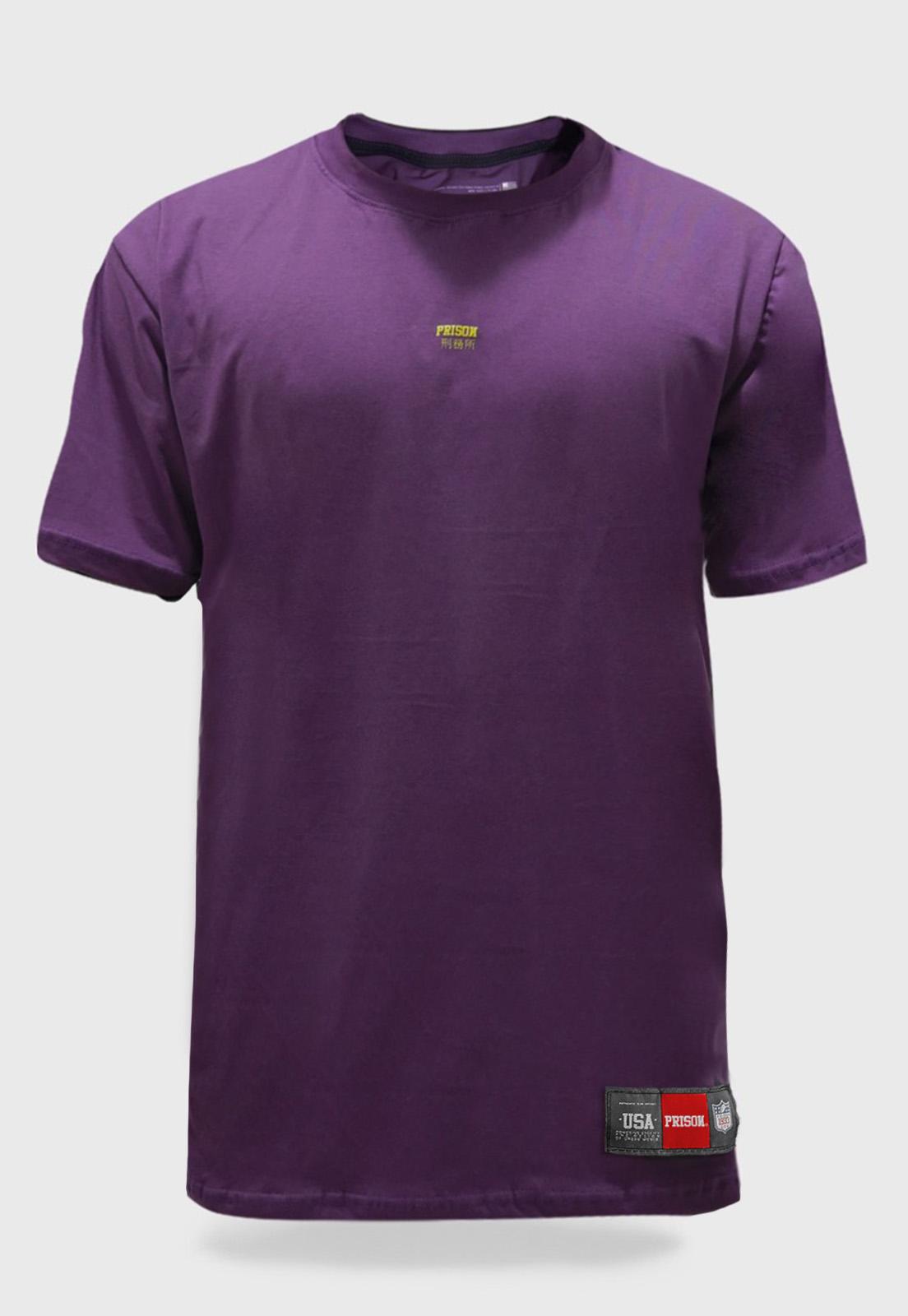 Camiseta Prison Purple Discret