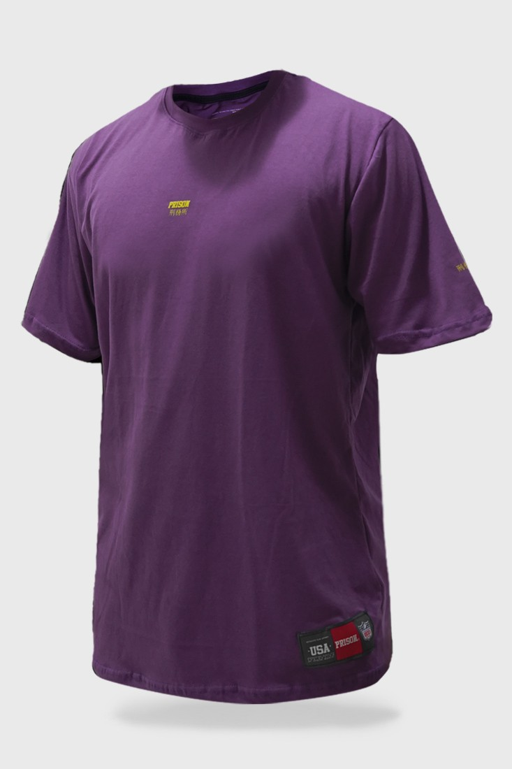Camiseta Prison Purple Discret