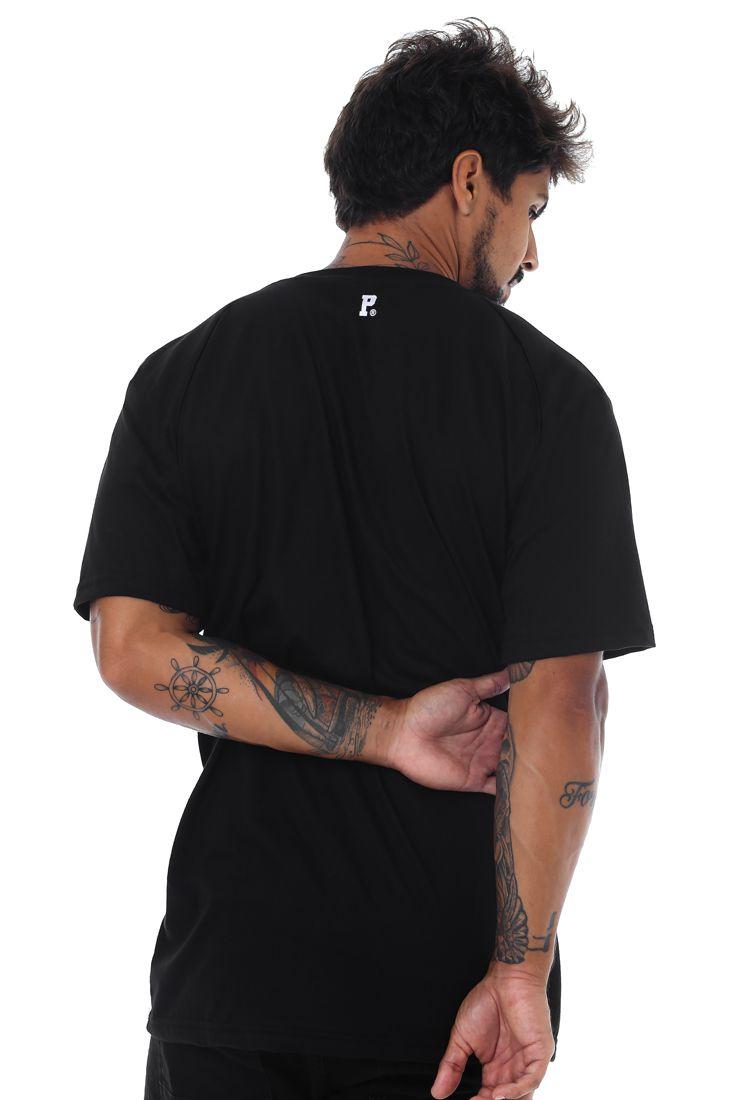 Camiseta Prison Raglan Brooklyn Preta