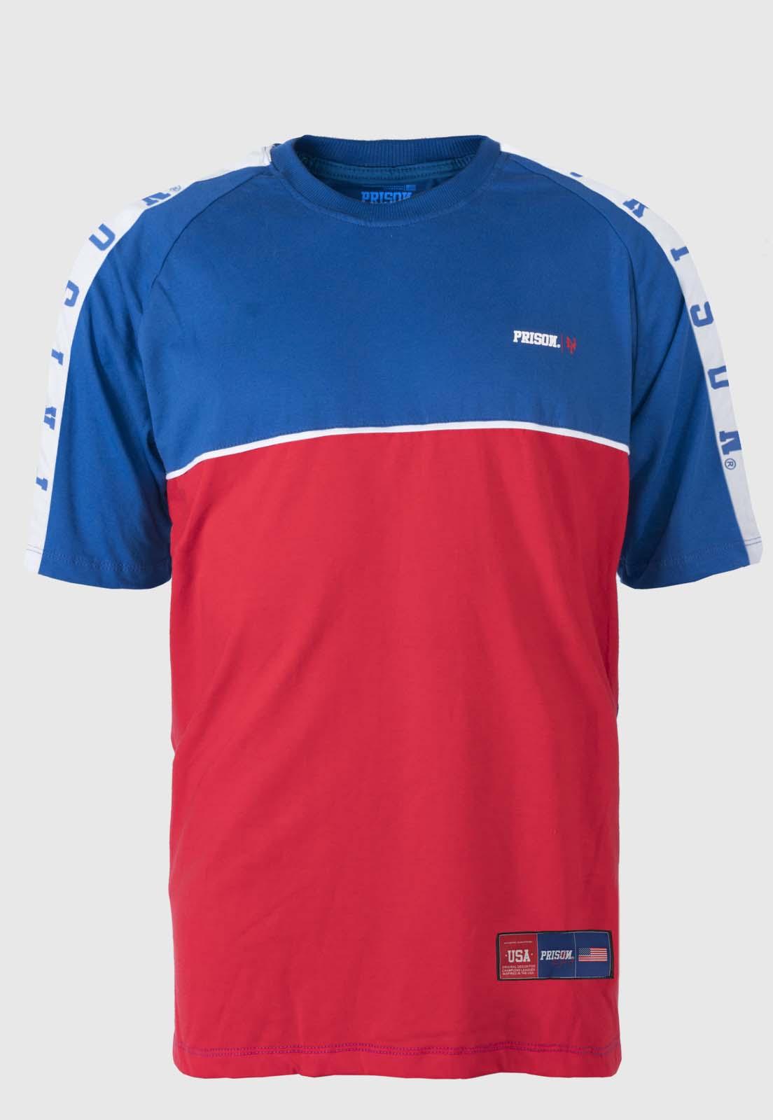 Camiseta Prison Raglan New York Red