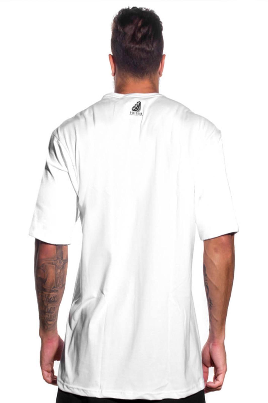 Camiseta Prison Rapper Branca