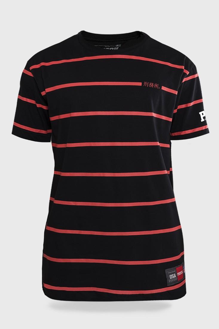 Camiseta Prison Red Line