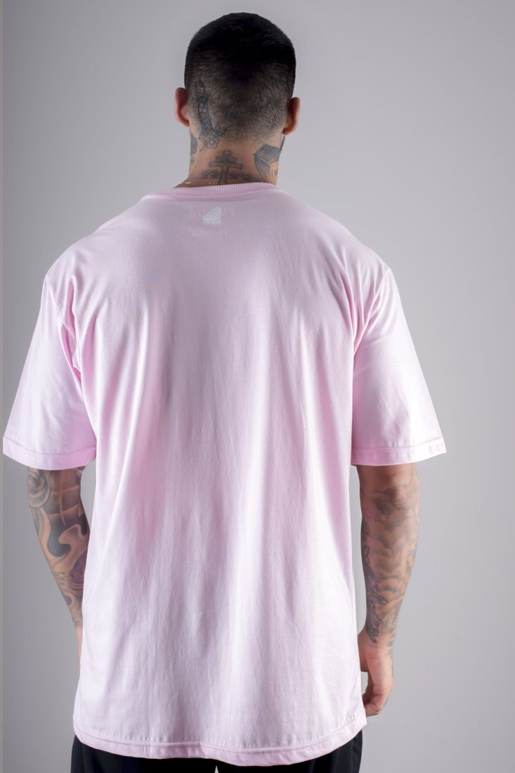 Camiseta Prison Simple Rose Rosa