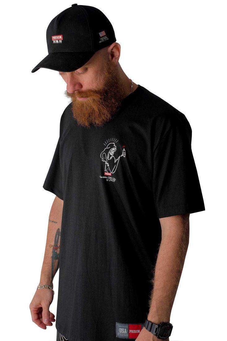 Camiseta Prison Skater Ghost Preta