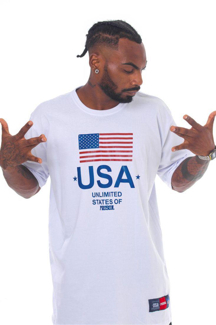 Camiseta Prison States of Street Branca
