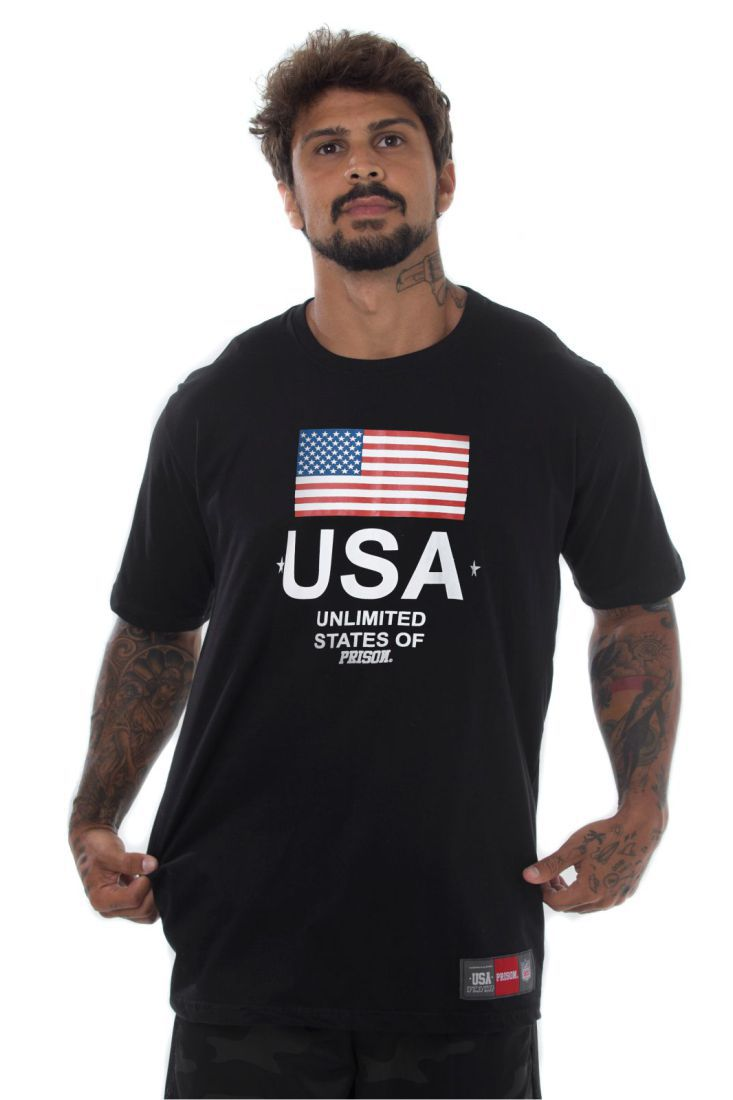 Camiseta Prison States of Street Preta