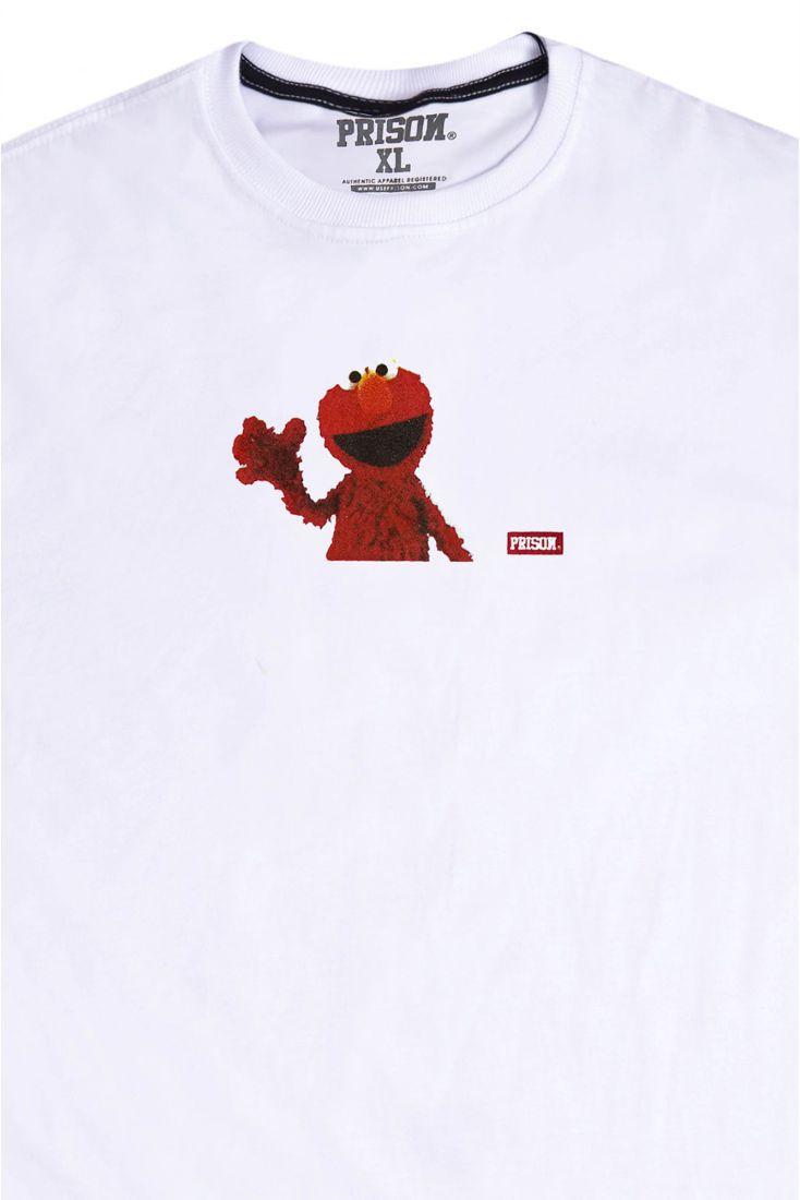 Camiseta Prison Street Elmo Branca