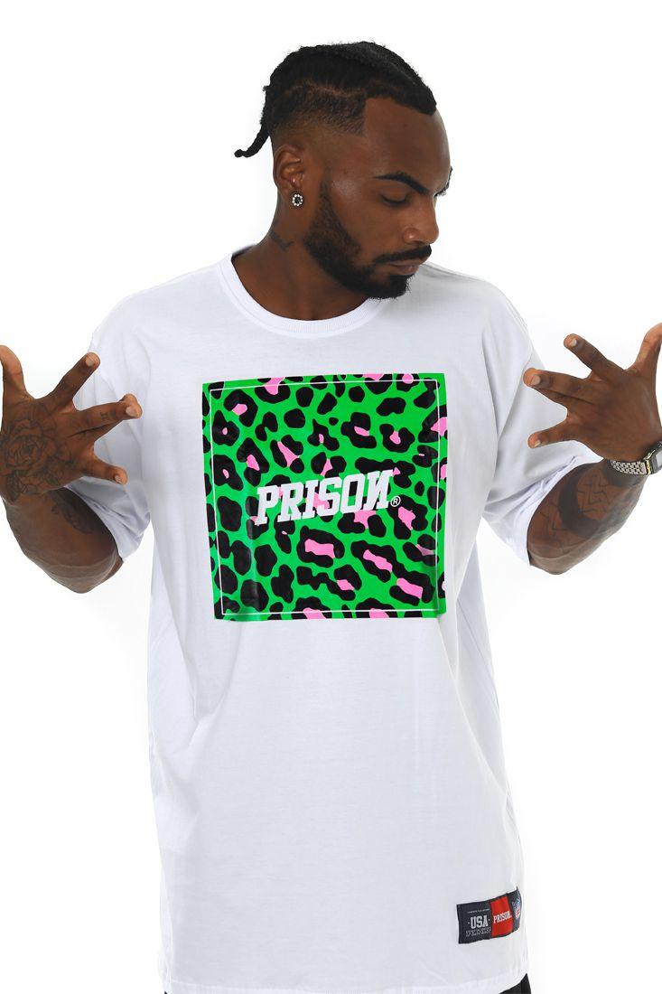 Camiseta Prison Street Jungle Branca
