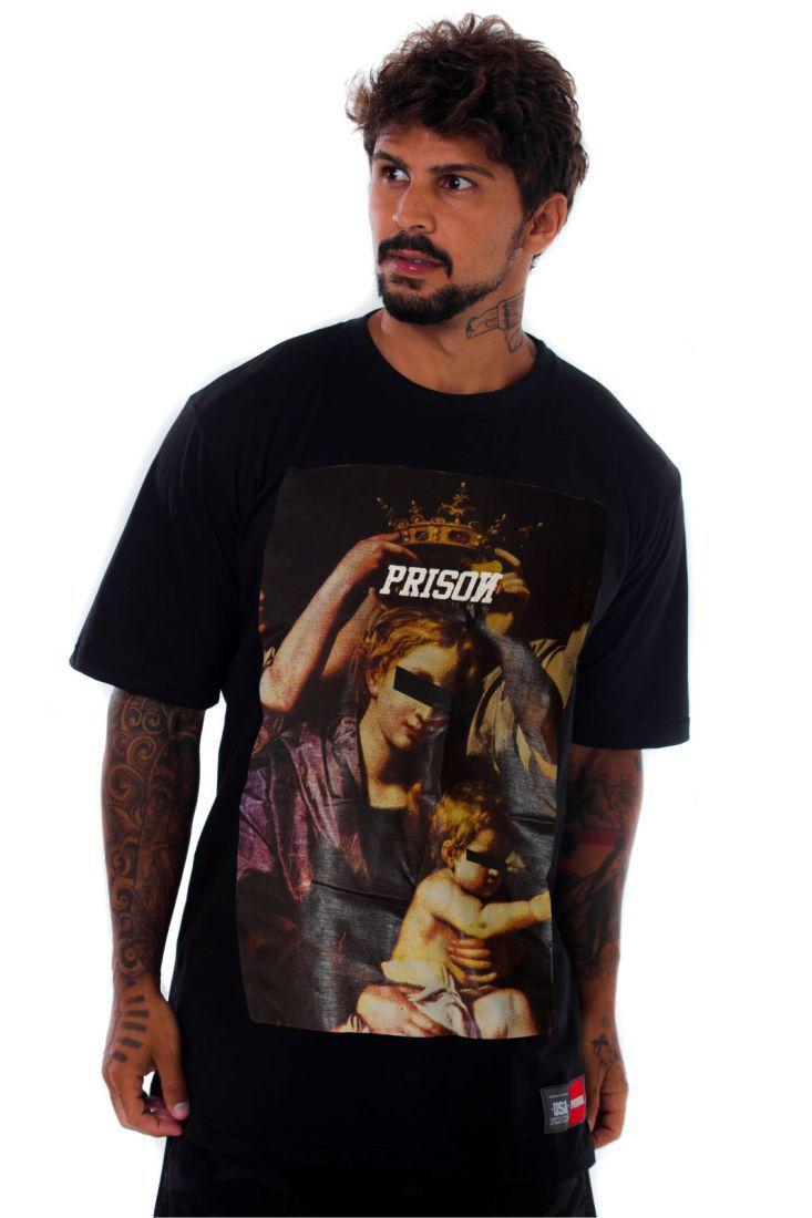 Camiseta Prison Street Royalty Preta