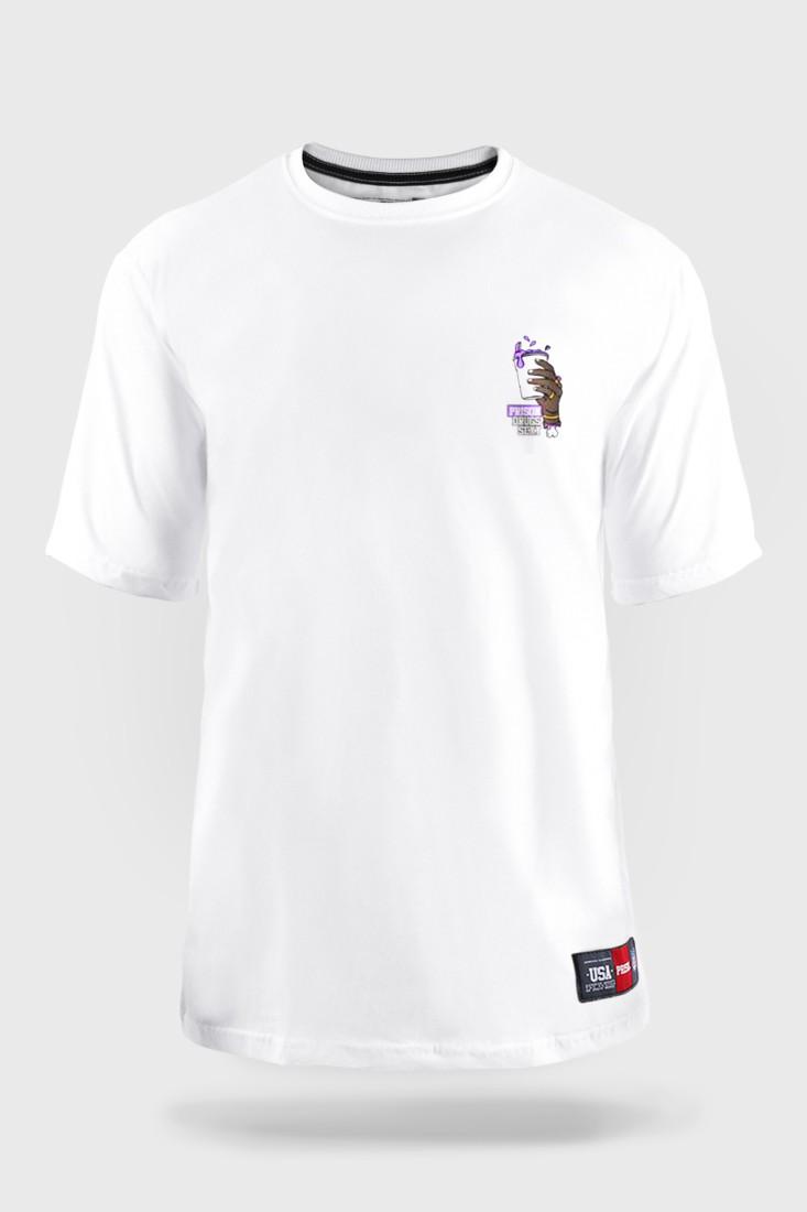 Camiseta Prison Streetwear Drugs Sexy Branca