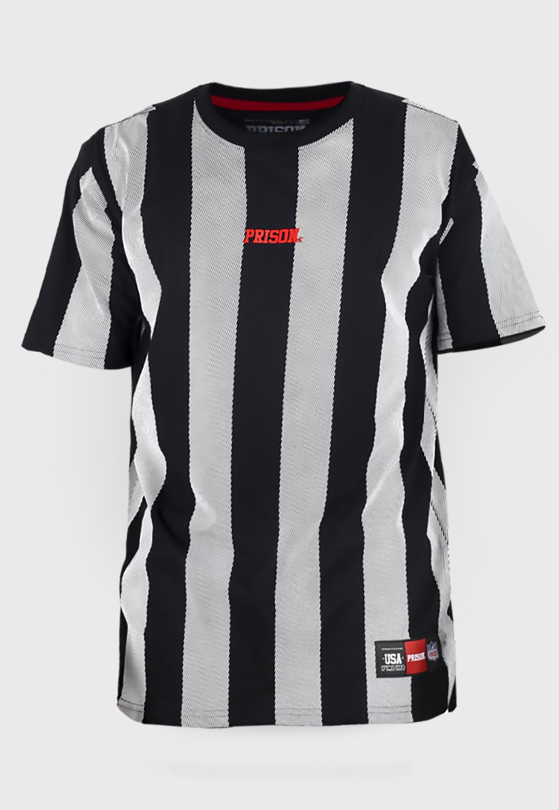 Camiseta prison streetwear Listrada Vertical