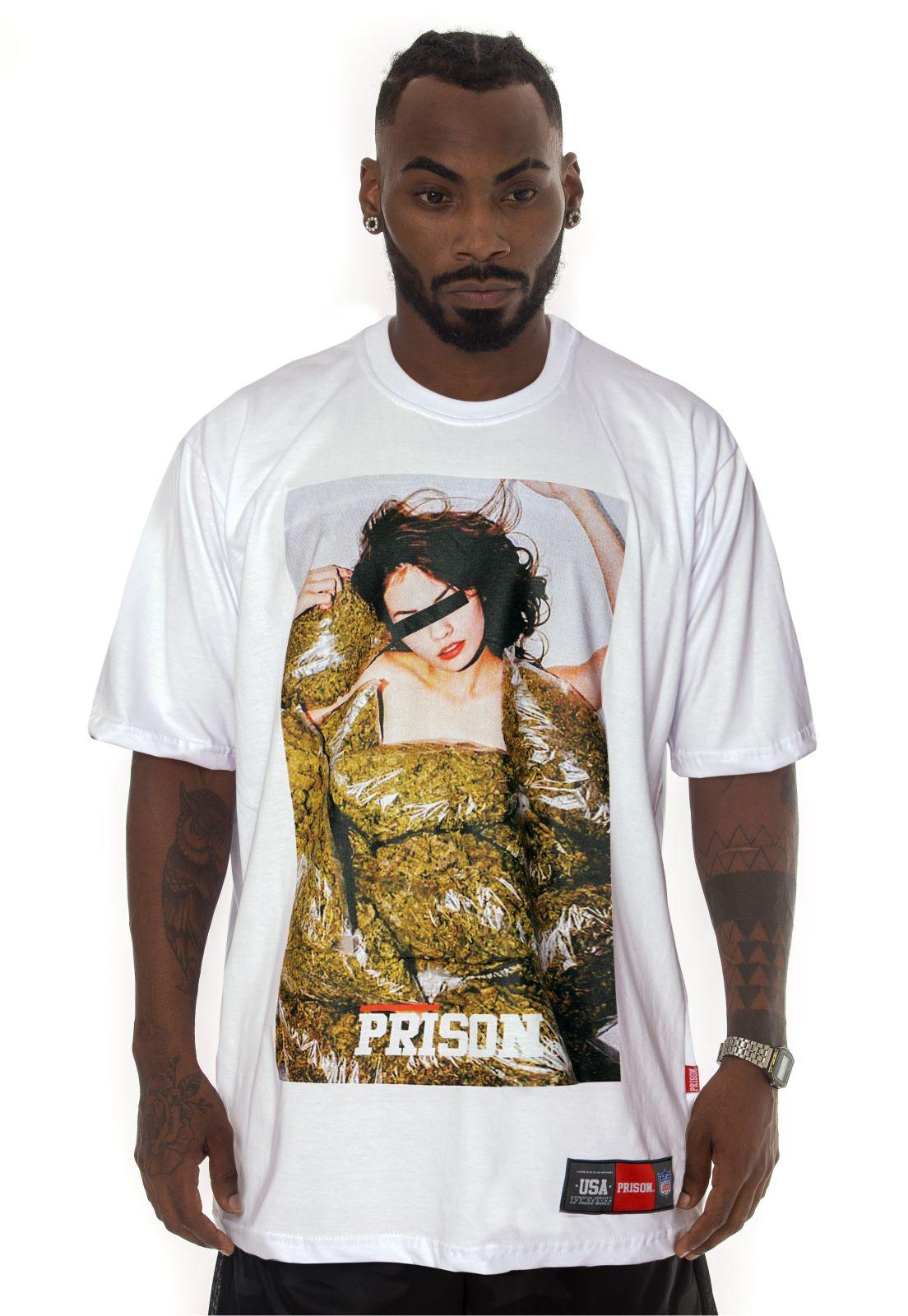 Camiseta Prison Streetwear Marijuana Pool