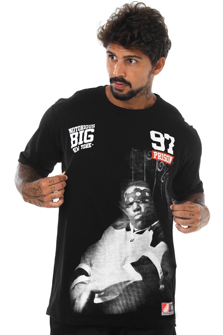 Camiseta Prison Streetwear Notorious Big N.Y