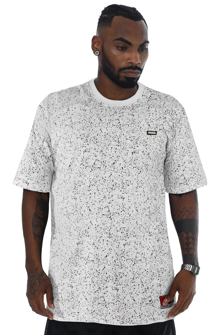 Camiseta Prison Streetwear Painted Branca