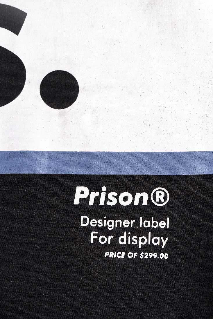 Camiseta Prison Blue Red Hype