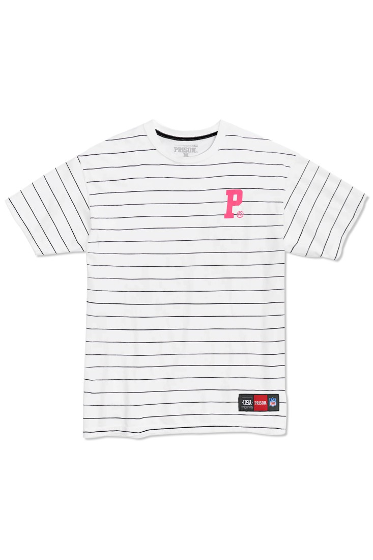 Camiseta Prison Streetwear Premium Stripes