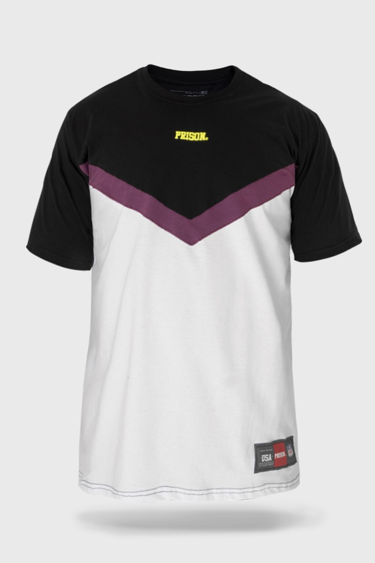 Camiseta Prison Streetwear Purple Zoom