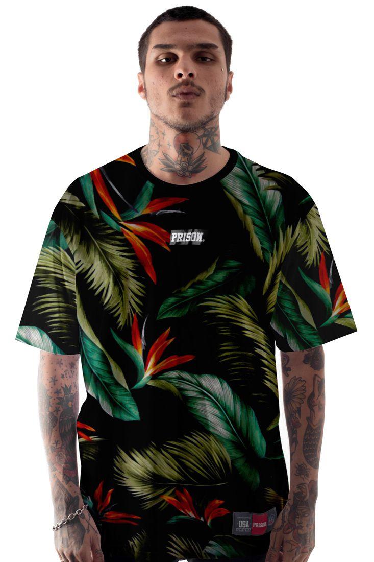 Camiseta Prison Summer Floral