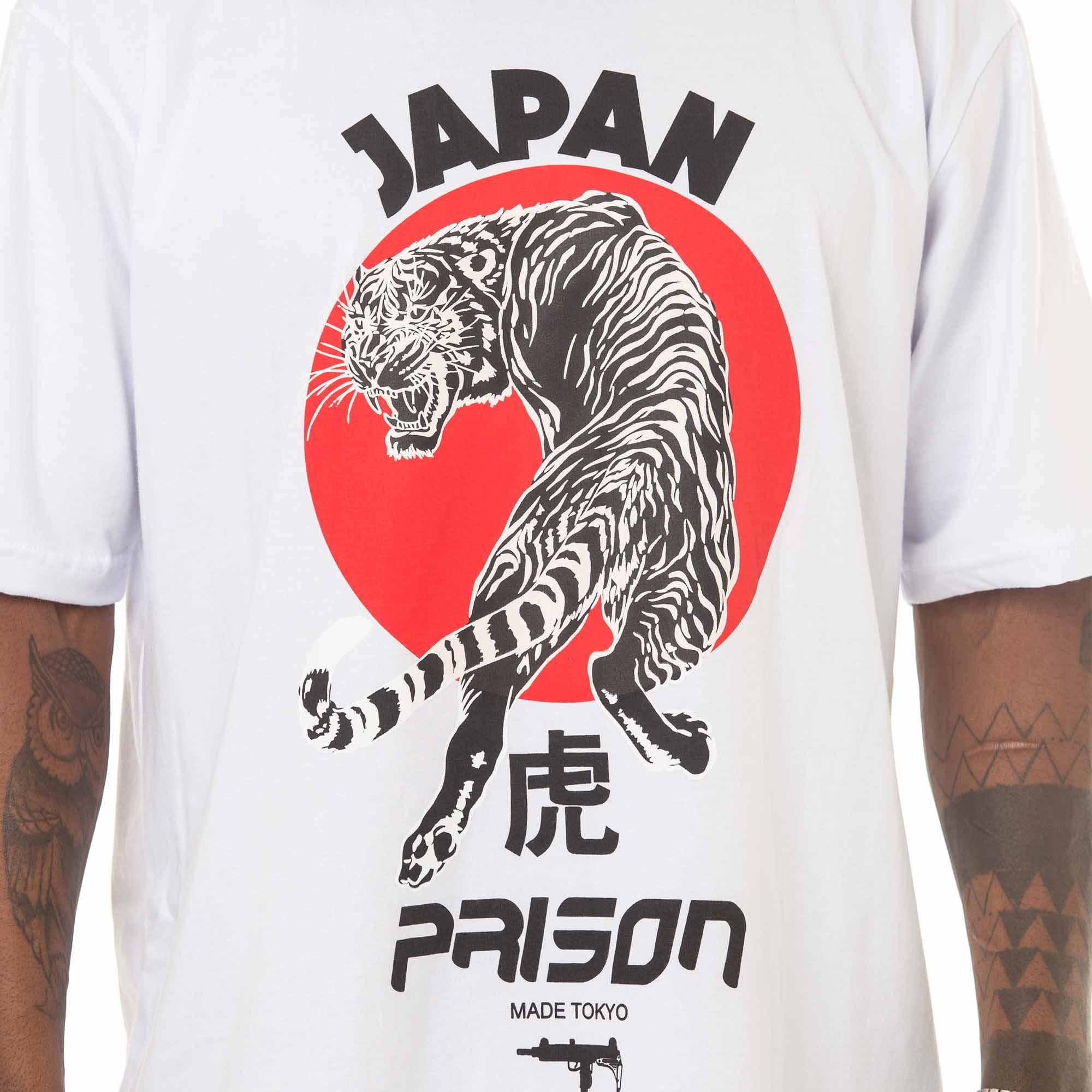 Camiseta Prison Sun Tokyo Branca