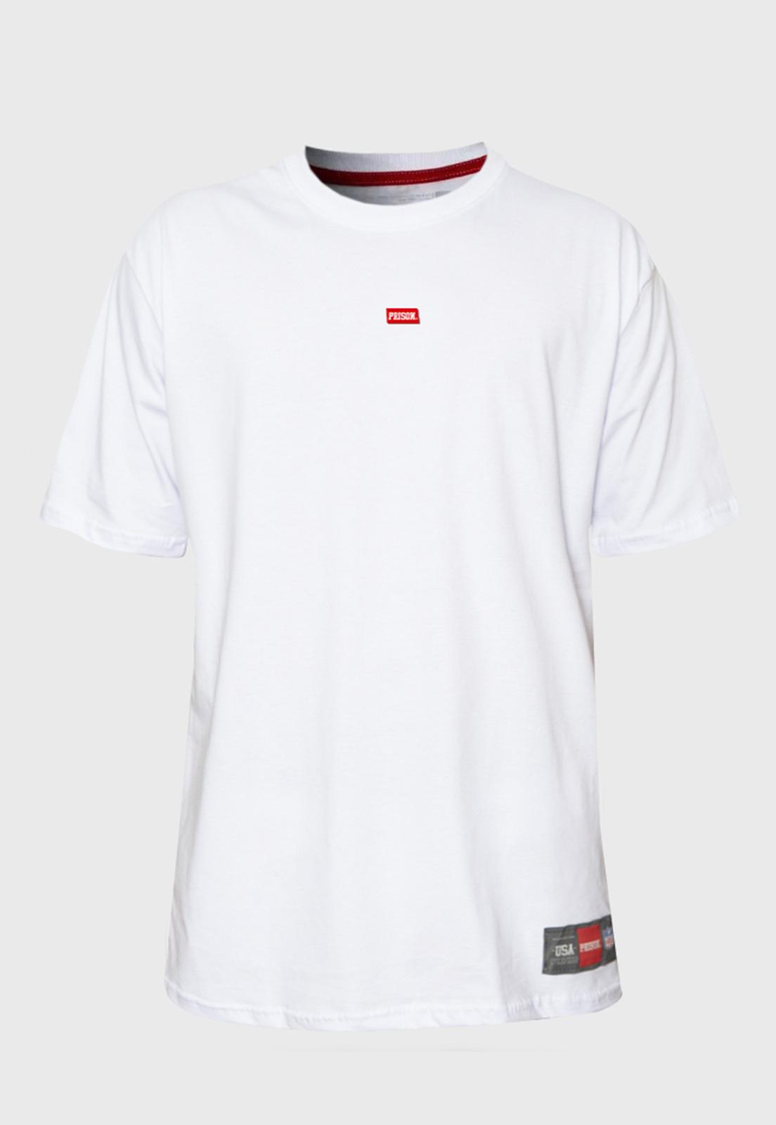 Camiseta Prison The minimalist Branco
