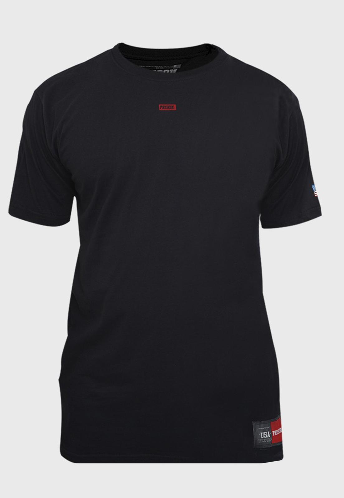 Camiseta Prison The minimalist Preto