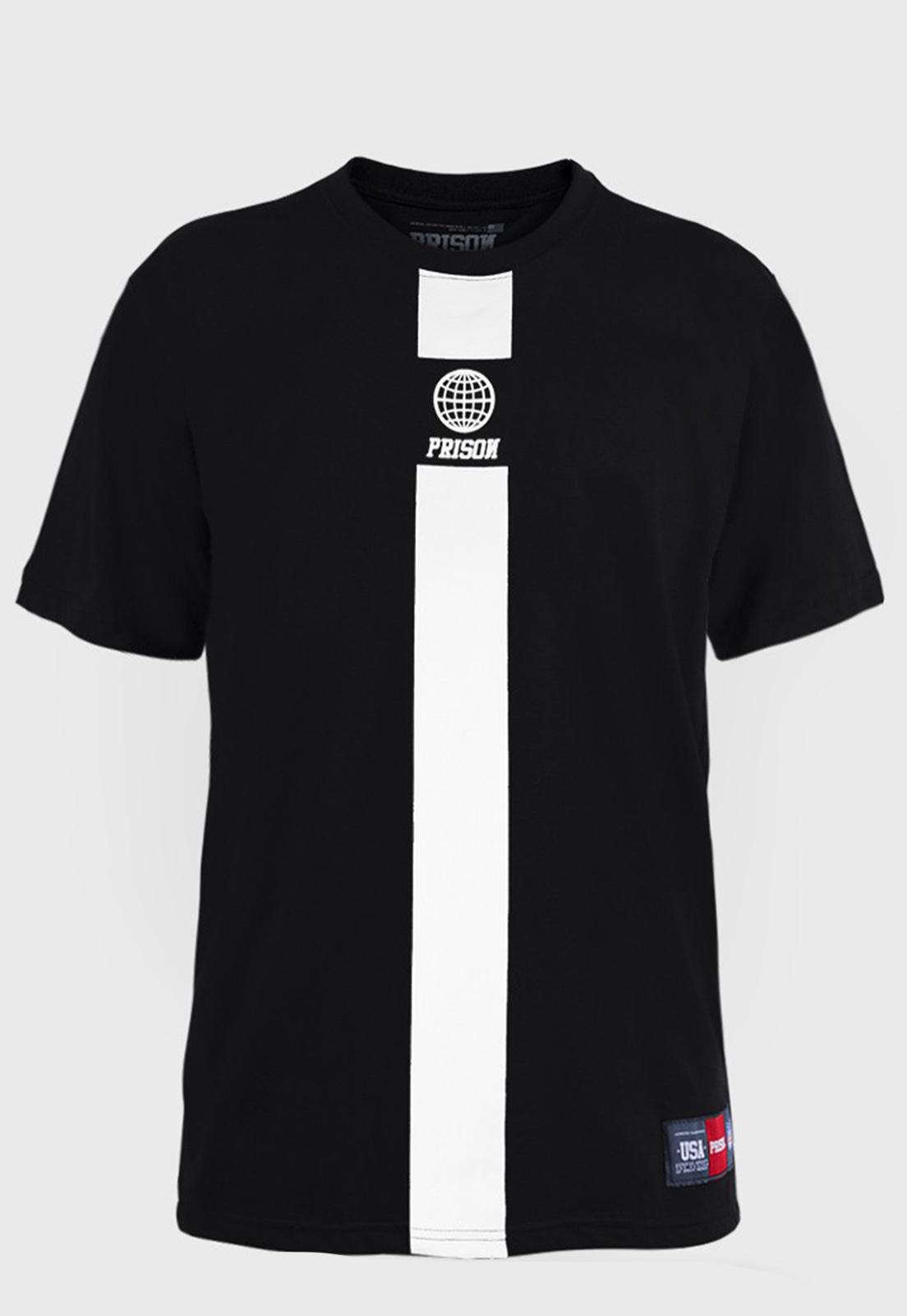 Camiseta Prison The Way Preta