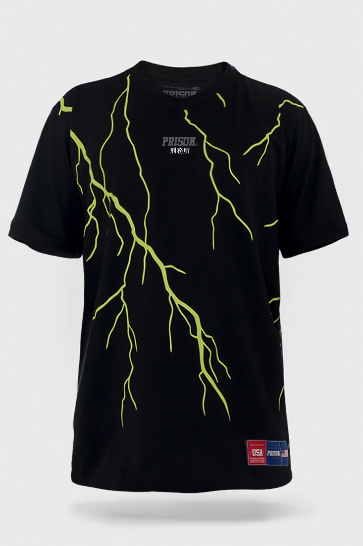 Camiseta Streetwear Prison Thunder Green