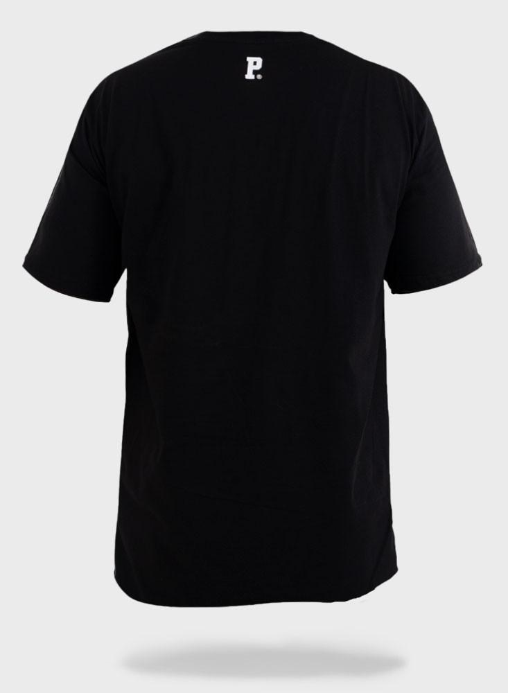 Camiseta Streetwear Prison Tiger Preta
