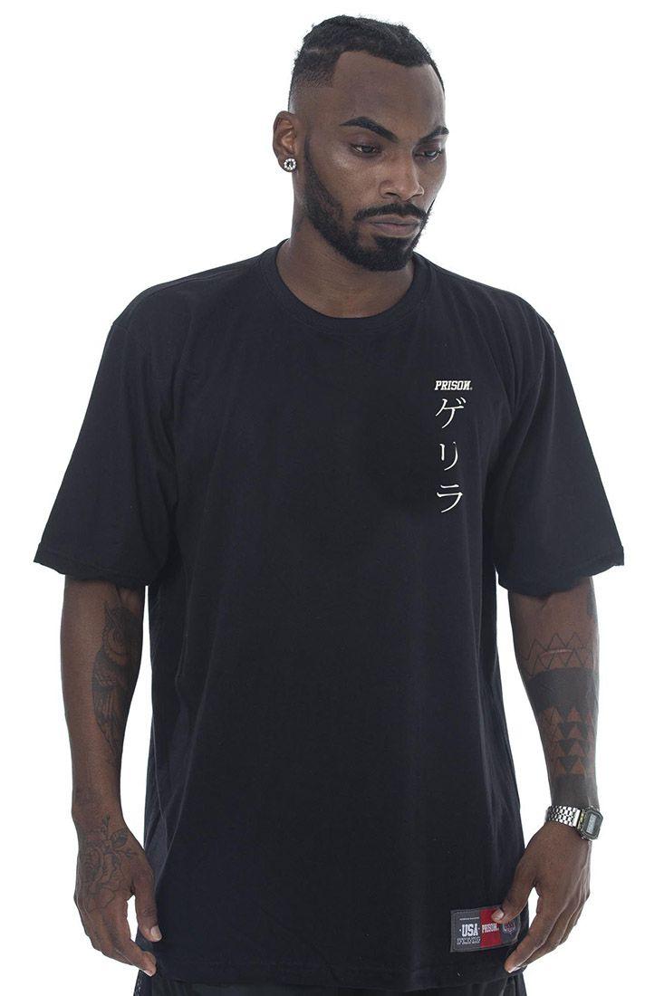 Camiseta Prison Tigers Preto
