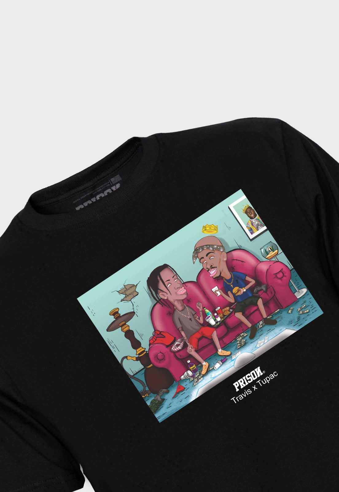 Camiseta Prison Travis x Tupac