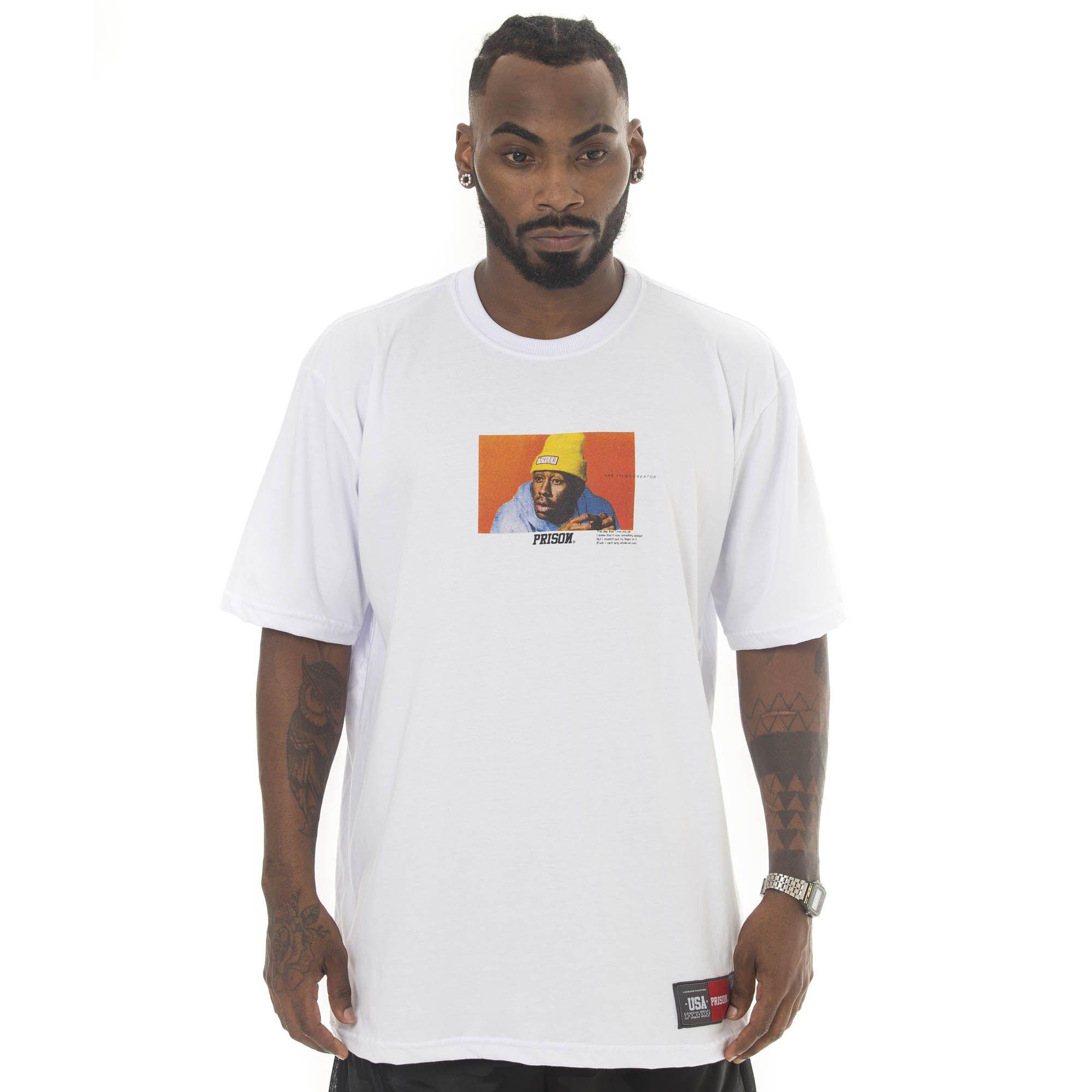 Camiseta Prison Tyler Branca