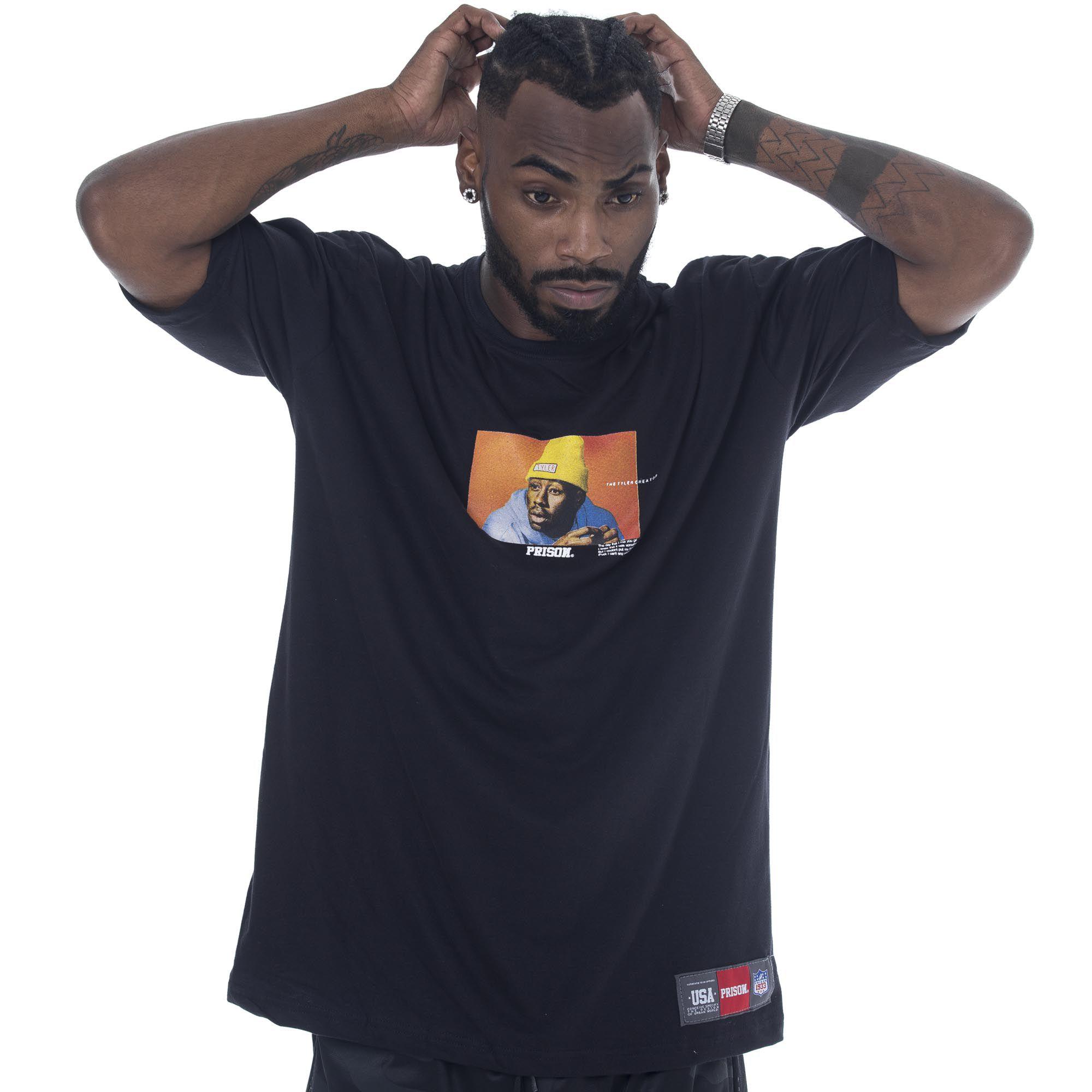 Camiseta Prison Tyler Preta