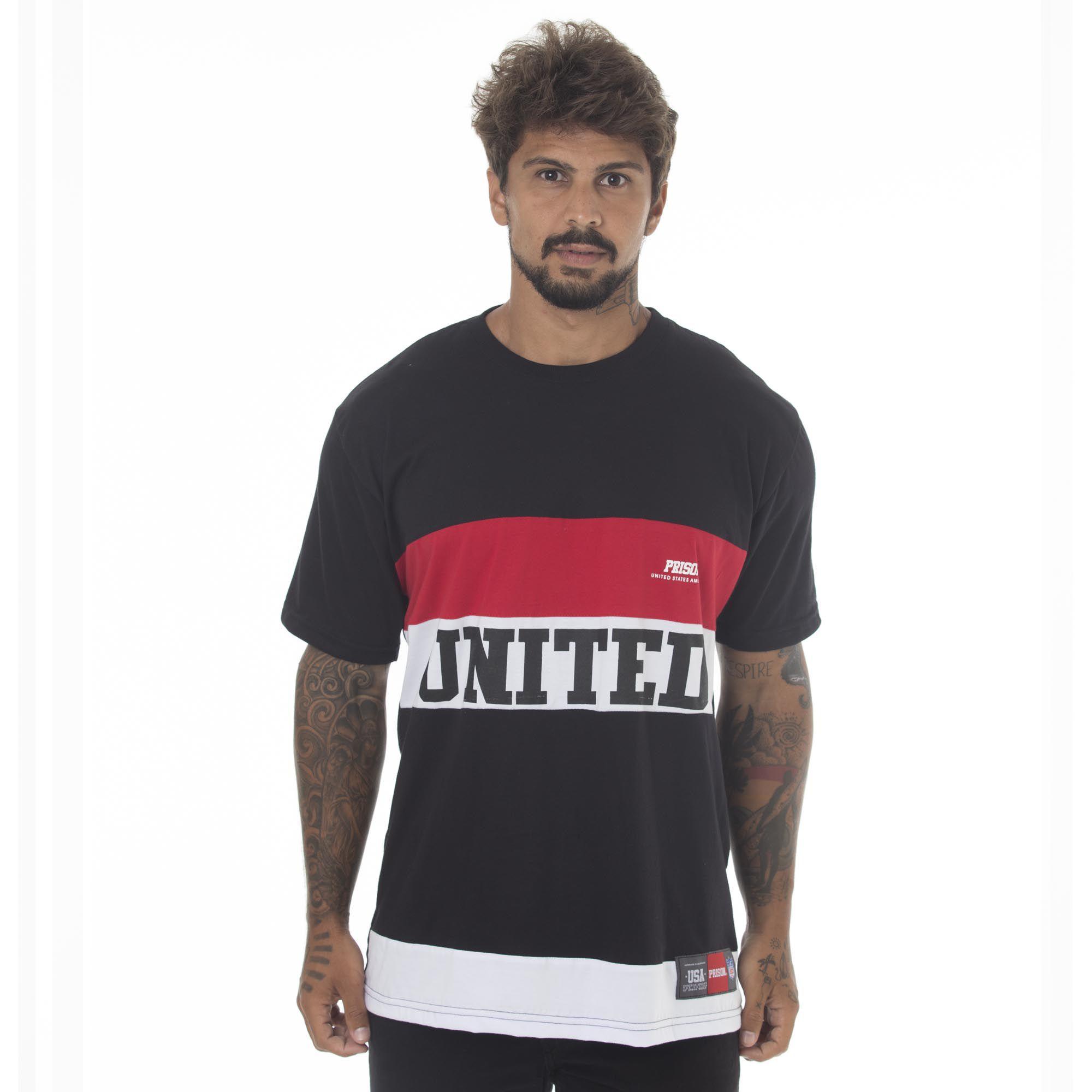Camiseta Prison United Preta
