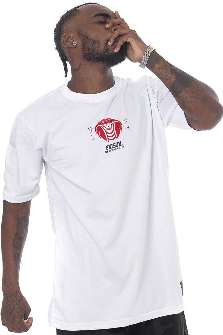 Camiseta Prison Venom Branca