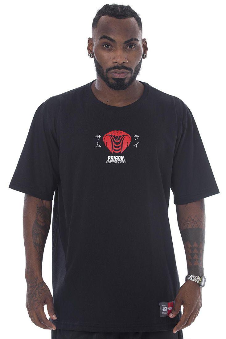 Camiseta Prison Venom Preta