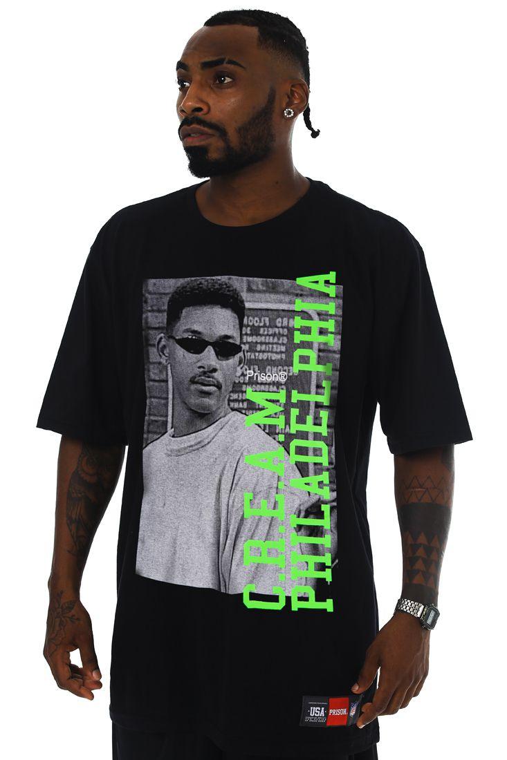 Camiseta Prison Will C.R.E.A.M Preta