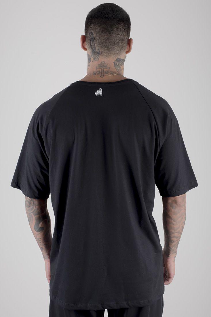 Camiseta Pure Gangster Prison Preta