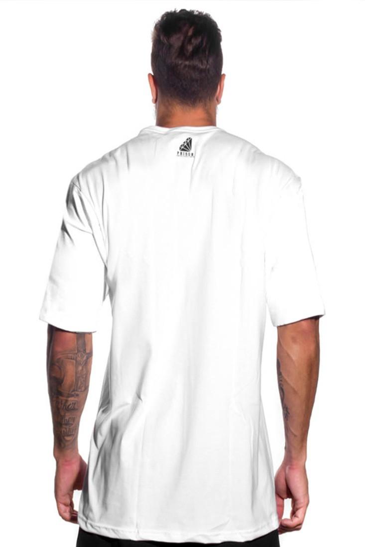 Camiseta Pure Graffiti Prison Branca