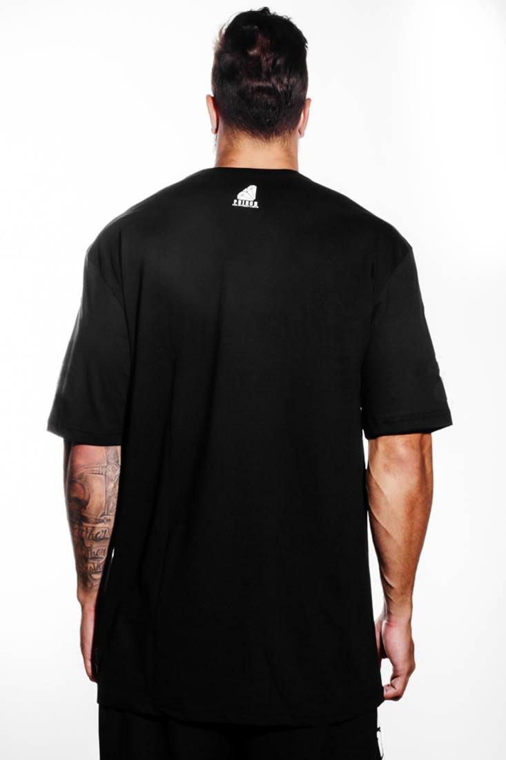 Camiseta Pure Graffiti Prison Preta