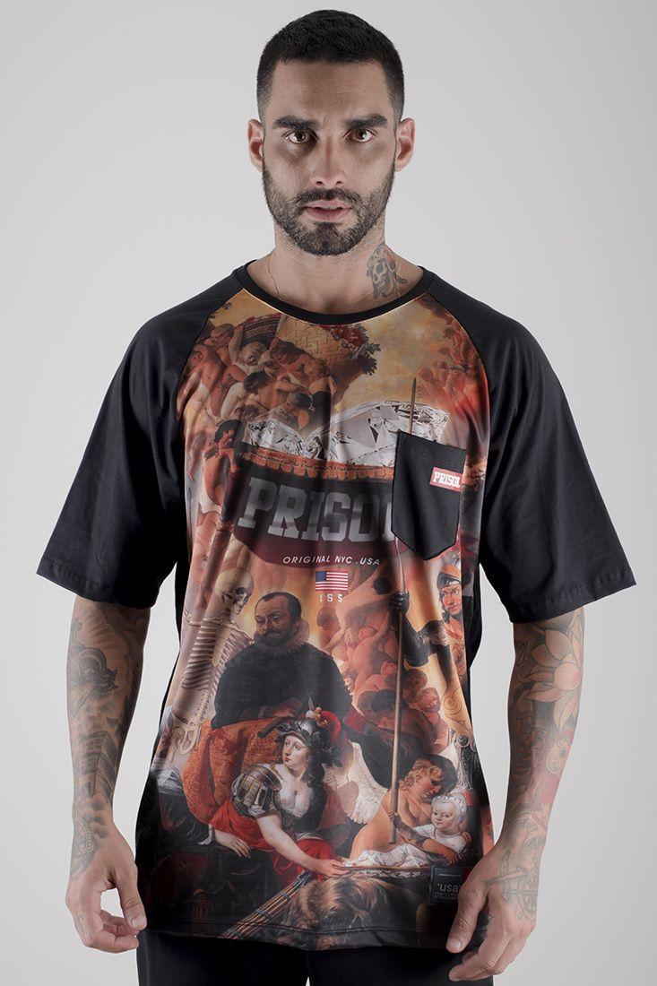 Camiseta Raglan Prison Street Noble
