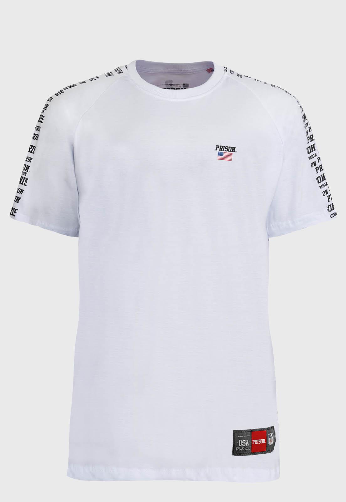 Camiseta Raglan Prison  the Future