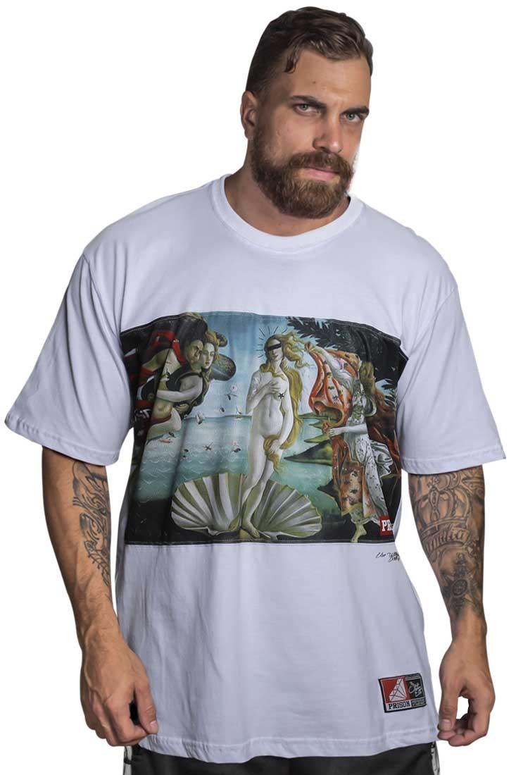 Camiseta Rap Venus Prison Branca 86275157712