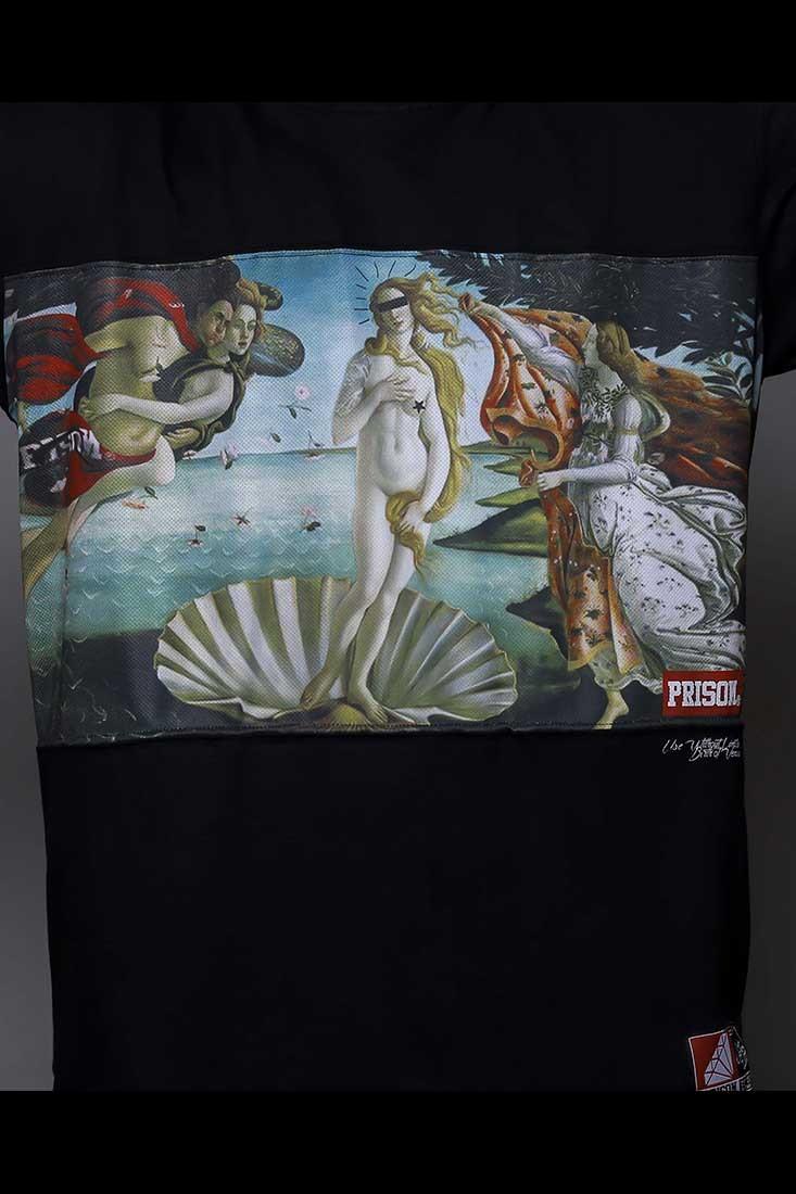 Camiseta Rap Venus Prison Preto
