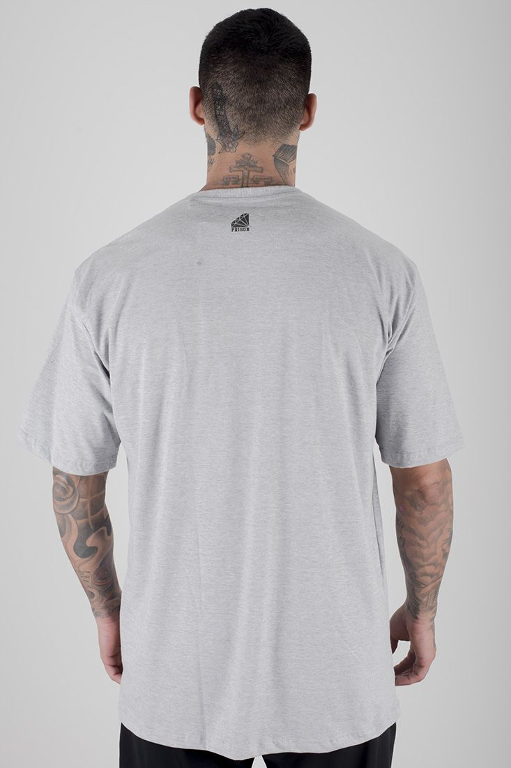 Camiseta Prison Sensual Street Cinza