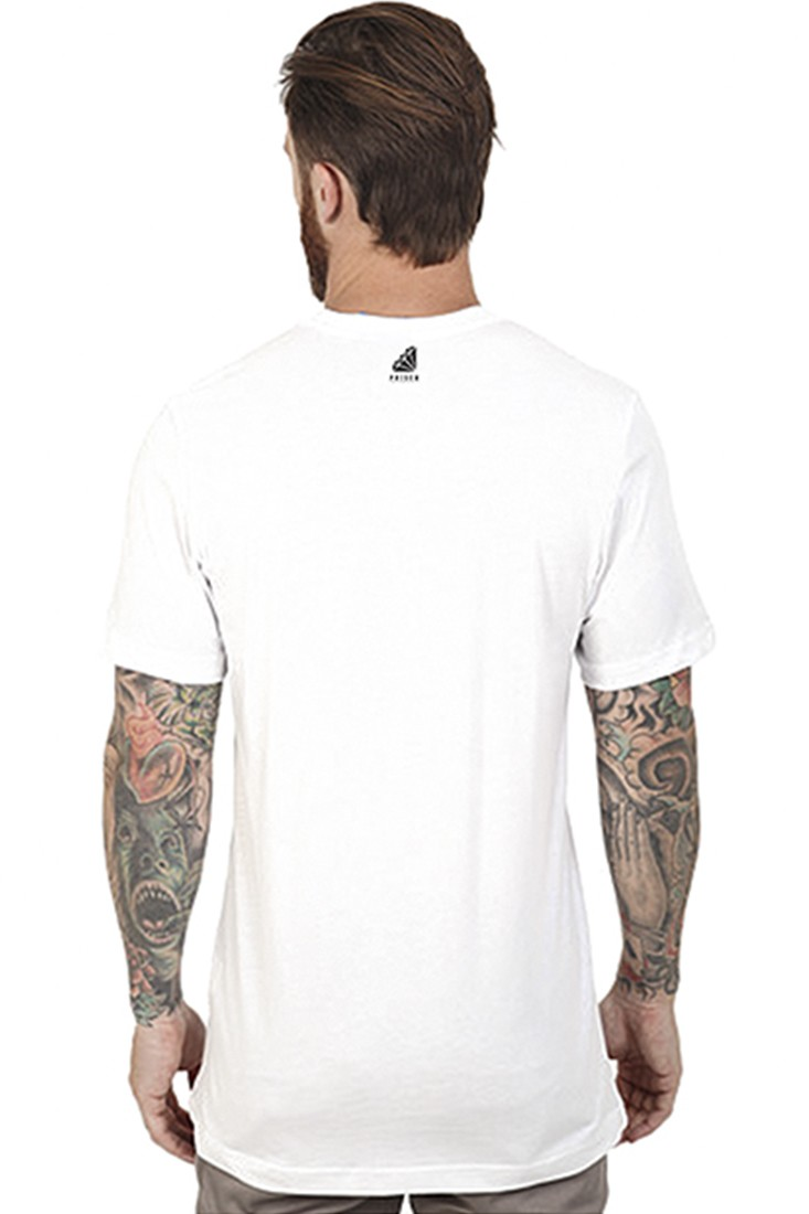 Camiseta Street USA NYC Prison Branca