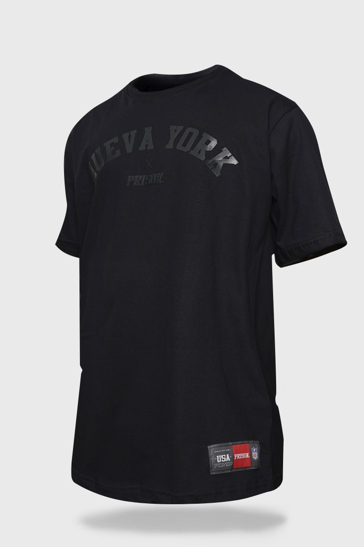 Camiseta Prison Nueva York black