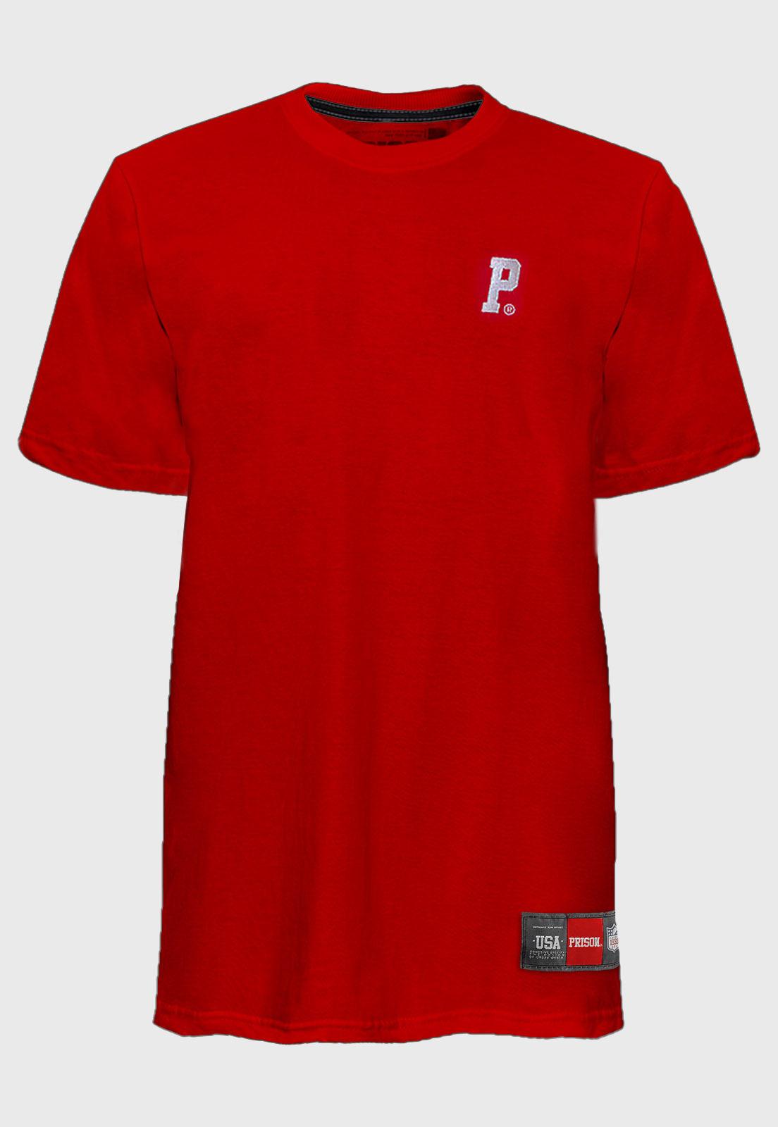 Camiseta Streetwear Logo Red