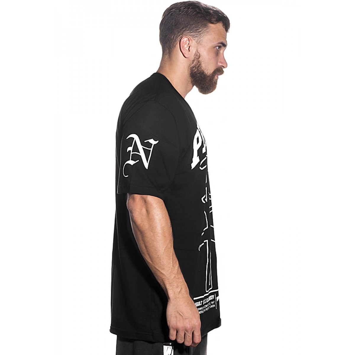 Camiseta Streetwear Prison NY-AK Preta